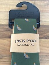Jack Pyke Tie Partridge Patterned Green Country Clothing Hunting Shooting