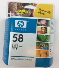 HP 58 Photo Ink New Genuine Factory Sealed Box C6658AN Date: 2007