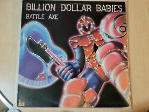Billion Dollar Babies Battle Axe LP Alice Cooper Related