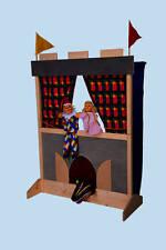 Kaspertheater Schloß, Puppenbühne v. Kersa für Kasper (NEU) puppetstage 37023