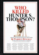 WHO KILLED HUNTER S. THOMPSON? 1ST EDN HC JOHNNY DEPP R. CRUMB RALPH STEADMAN