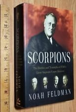 Scorpions FDR's Great Supreme Court Justices Noah Feldman 2010 1st edition HC/DJ