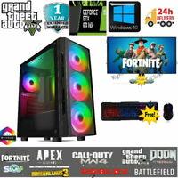 Fast Gaming Computer Bundle Intel Quad Core i7 16GB 512 SSD  Win 10 GTX 1650