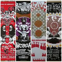 Gig Poster Lot, psych posters,Poster lot,The Black Angels, 13x19 art prints,S/N