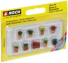 Noch 14031 Ornamental Plants in Flower Pots