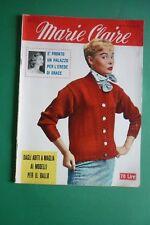 MARIE CLAIRE 4/1957 GRACE KELLY MODELLI CAROSA-GLORI-SPAGNOLI-JACOBSON ALAN LADD