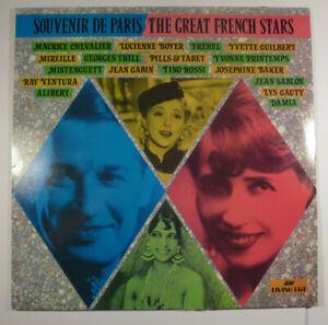 "Souvenir De Paris - Various Comp 12"" Vinyl Record ASV Living Era Josephine Baker"