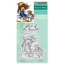 PENNY BLACK RUBBER STAMPS SLAPSTICK CLING THE BUNCH NEW cling STAMP