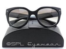 PRADA Sunglasses SPR 17O 54-22 1AB 0A7 Black Frame Grey Gradient Lens - PR 17OS