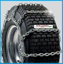 Chaînes à neige glace roue tracteur tondeuse mèsure 22x10,00-10 paire