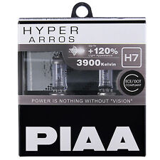 PIAA Hyper Arros H7 Car Replacement Headlights Bulbs +120% (Twin Pack) HE903