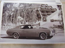 1971 CHEVROLET CHEVELLE SS  11 X 17  PHOTO /  PICTURE