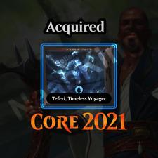 MTG Arena (MTGA) TEFERI [M21] Core Set 2021 - Planeswalker Deck Code (CORE21)