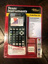 Texas Instruments Ti-84 Plus Ce New In Box