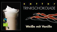 Zotter Trinkschokolade Weisse mit Vanille 5 x 22 g (100 g = 5,91 €)