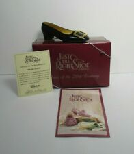 Just The Right Shoe Patently Perfect 1999 by Raine Willitts Designs w/Box & Coa