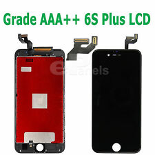 "5.5"" Apple iPhone 6 Splus Compatibile LCD LED Touch Screen Digitalizzatore Montaggio Nero"