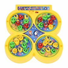 Plateau Fishing Game Fish on Line Magnetic Educational Toy for Kids Baby B3C1