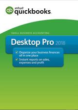 New Listing✅ Intuit QuickBooks Desktop Pro 2018 🔥 70%Off🔥 3 User 🔥 For Windows ✅