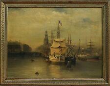 G.P. Steggerda Dutch School 19 Century Original Oil Painting Signed