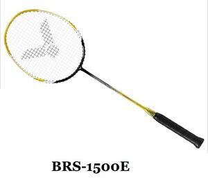 VICTOR Badminton Racket Racquet BRAVE SWORD 1500 4UG5 Graphite Unstrung Yellow