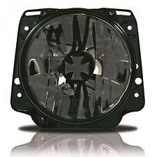 VW Golf 2 MK2 Iron Cross Crystal Clear Black Headlight Head Light Lamp GTI 83-92