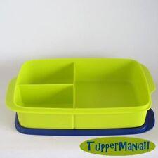 TUPPERWARE Grosse Clevere Pause 1l  Lunch Box Sandwich Brotbox mit Teiler +BONUS