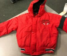 Chicago Bulls Jacket RED WITH HOOD TODDLERS SIZE 5T