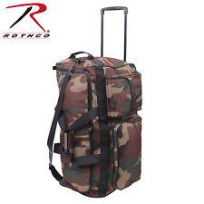 Army Trolley Outdoor US woodland camouflage Reisetasche Tasche Travel Bag