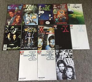 lot of 13 ODDBALL AND ONE-SHOT X-FILES COMICS~German #1,-1,-2,Ashcan, MORE