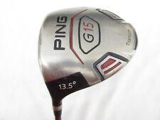 Used LH Ping G15 13.5° Driver Ping TFC 149 Graphite Soft Regular Flex SoR-Flex