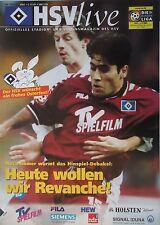 Programm 2000/01 HSV Hamburger SV - 1. FC Köln