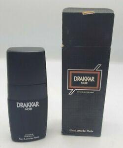 DRAKKAR NOIR BY GUY LAROCHE AFTER SHAVE 3.4 OZ SPLASH with Box