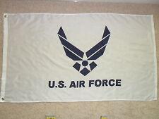 3' X 5' U.S. AIR FORCE WINGS FLAG WHITE 3X5