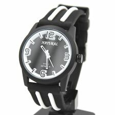 Sport Silicone/Rubber Band Analogue Unisex Wristwatches