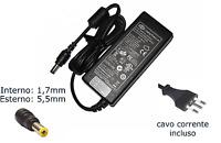 Alimentatore Compatibile Notebook Pc Portatile Acer 19V 4.74A 90W 5.5*1.7mm hsb