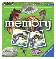 Ravensburger Spannendes Dinosaurier-Memory Mit gratis Poster! Spielzeug NEU