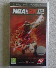 NBA 2K12 - SONY PSP - NEUF SOUS BLISTER