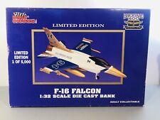 F-16 Falcon 1:32 1994 Brickyard 400 Inaugural Race Racing Champions Coin Bank