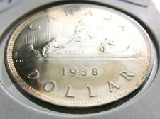 1938 Canada 1 One Dollar Canadian George VI Whizzed Coin R499