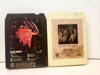 Black Sabbath - 8 Track Cassette (LOT of 2) - Paranoid & Heaven and Hell