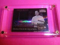 2007 Donruss Americana ERROL FLYNN Hollywood Legends Swatch Relic Card SP #d/100