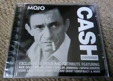 MOJO MAGAZINE JOHNNY CASH TRIBUTE COVERED 15 TRACK SEALED CD STEVE EARLE 11/2004