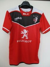 Maillot rugby STADE TOULOUSAIN 2017 shirt BLK home rouge Toulouse XS