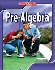 Pre-Algebra, Student Edition by McGraw-Hill Staff (2008, Hardcover)