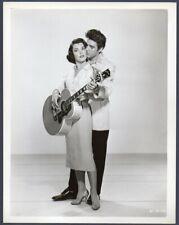 ELVIS PRESLEY & JUDY TYLER Vintage Orig Photo JAILHOUSE ROCK sexy actress
