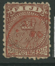 Fiji SG84a 1892 21/2d Brown Used