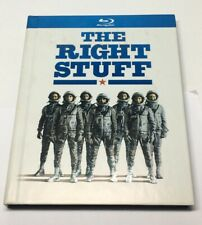 The Right Stuff (blu ray movie) Collectible Book edition, used