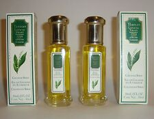 YARDLEY LILY OF THE VALLEY PERFUME COLOGNE SPRAY LOT X 2 BOTTLES VINTAGE NIB