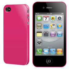 NUOVO Switcheasy Nude Cover Custodia per iPhone 4 4S IN ROSA FUCSIA sw-nui4-p
